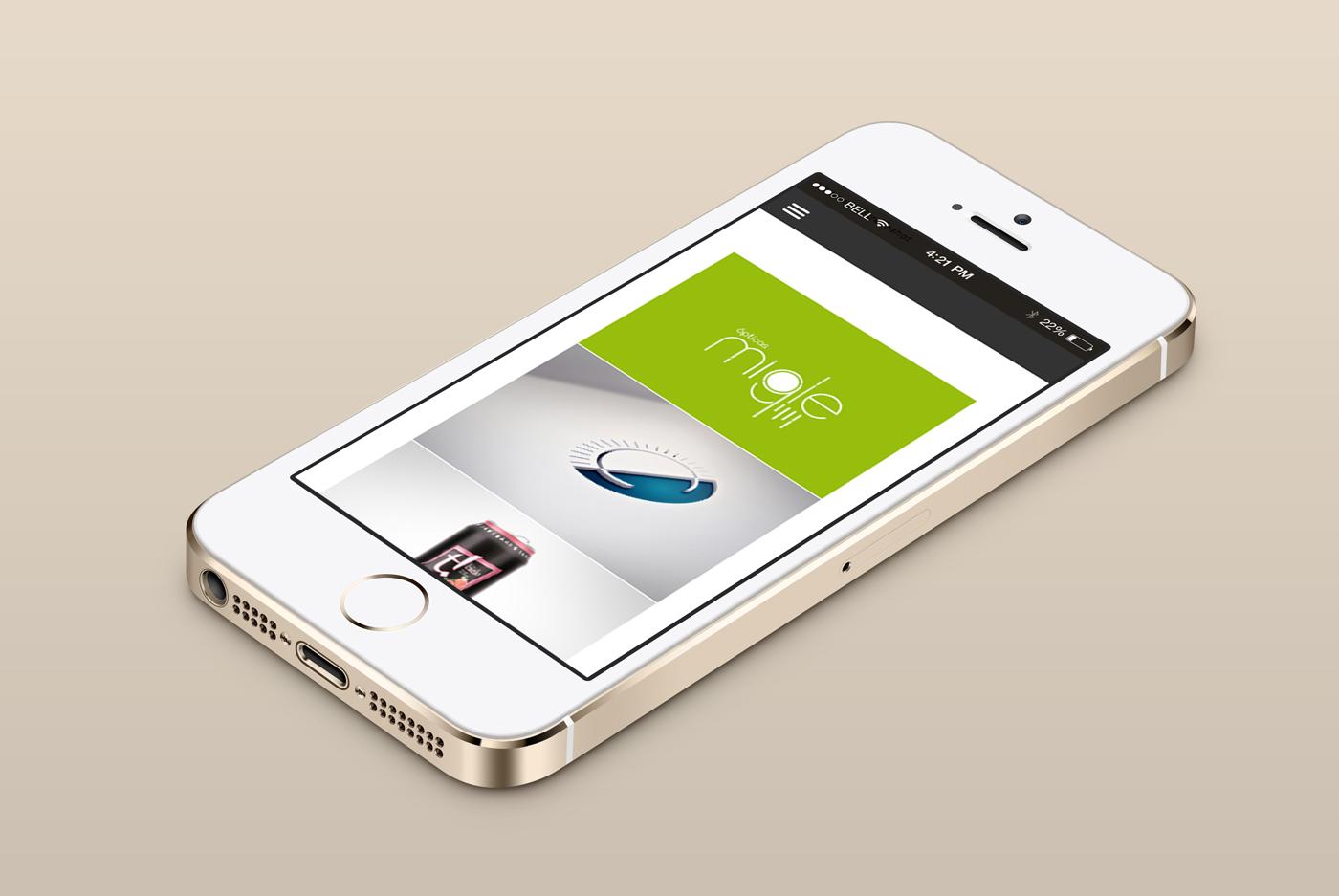 Diseño de la página web del diseñador gráfico de Madrid Álvaro Salas Gutierrez