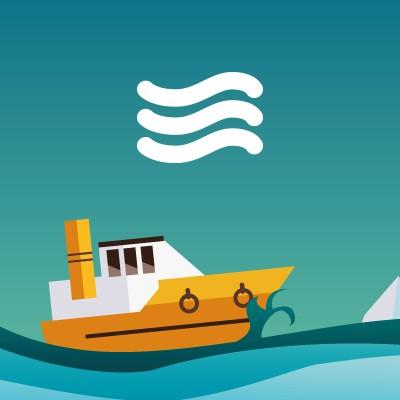 Ocean Cruising Services Diseño de Identidad y logotipo