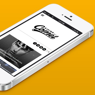 Riding on a Comet, diseño de magazine - revista online, página web, logotipo e identidad corporativa . Donostia, Guipúzcoa.